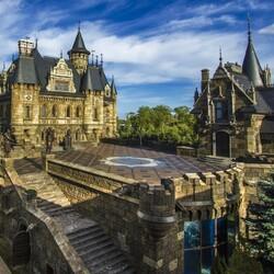 Пазл онлайн: Замок Гарибальди