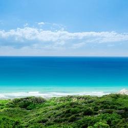 Пазл онлайн: Голубое море