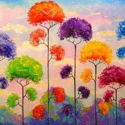 Пазл онлайн: Мелодия деревьев