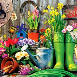Пазл онлайн: Мой маленький сад