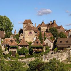 Пазл онлайн: Французская деревня