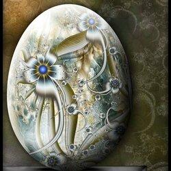 Пазл онлайн: Фрактальное яйцо