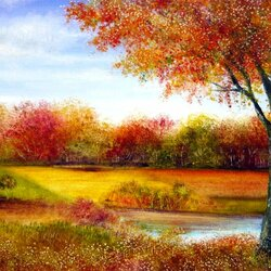 Пазл онлайн: Осень в Дербишире