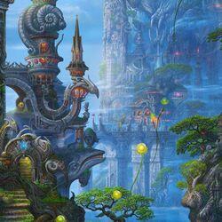 Пазл онлайн: Фантастический мир