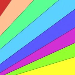 Пазл онлайн: Цветные лучи
