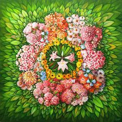 Пазл онлайн: Цветница/Вербное воскресенье