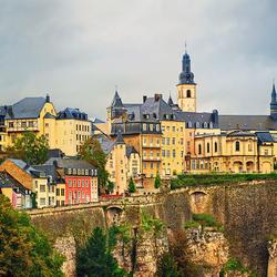 Пазл онлайн: Герцогство Люксембург