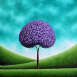 Пазл онлайн: Сиреневое дерево