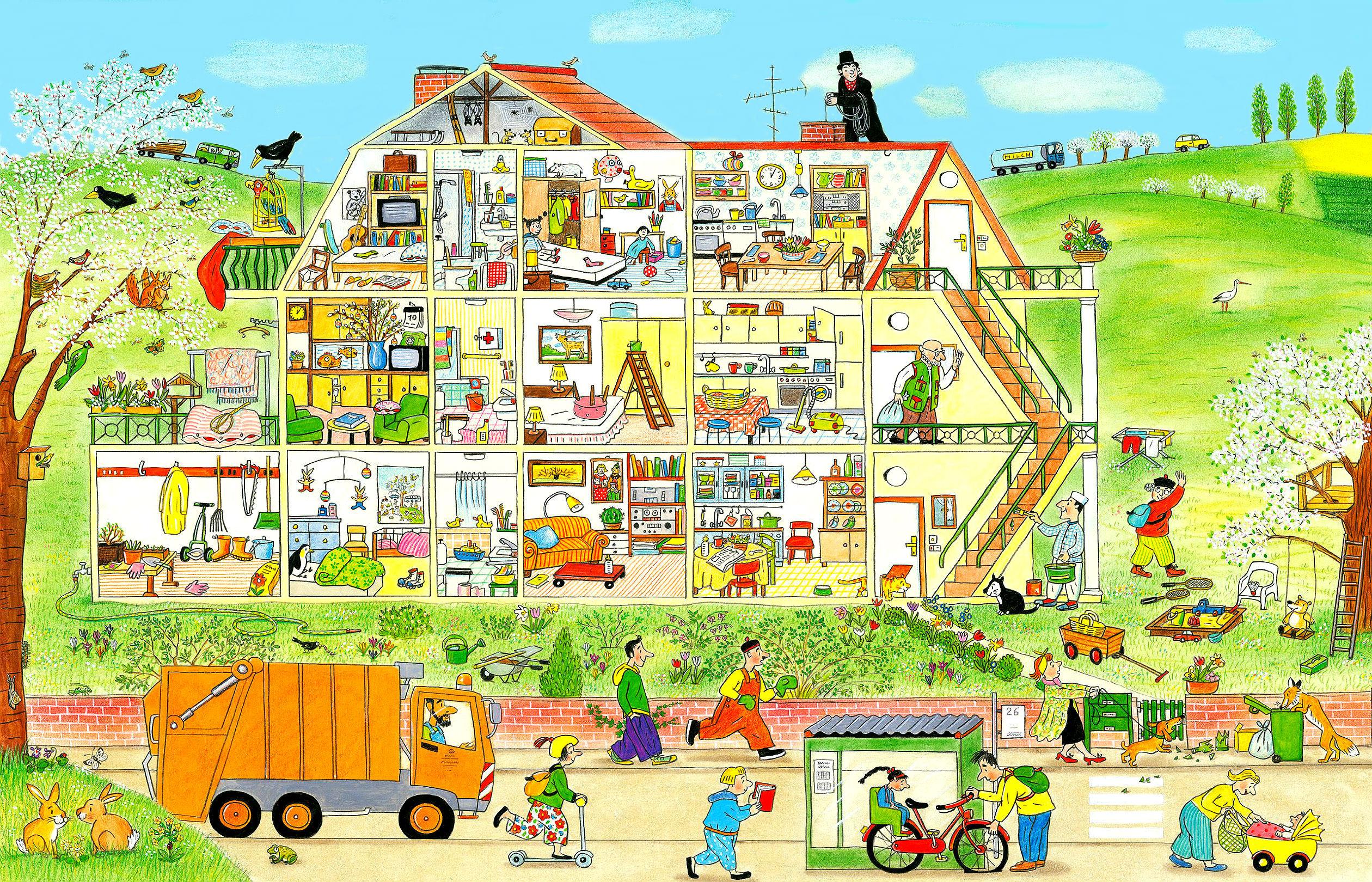картинки карта жилого домашних улице
