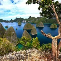 Пазл онлайн: Острова и островки