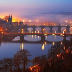 Пазл онлайн: Пражские мосты
