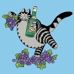 Пазл онлайн: Вино и виноград