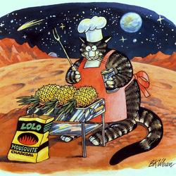 Пазл онлайн: Гриль по-марсиански