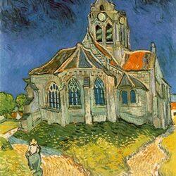 Пазл онлайн: Церковь в Овере