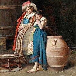 Пазл онлайн: В винном погребе
