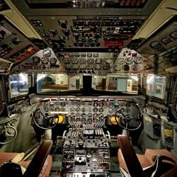 Пазл онлайн: Кабина самолета