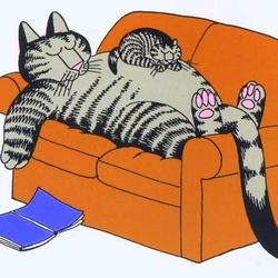Пазл онлайн: Удобный диван