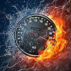 Пазл онлайн: Скорость