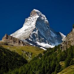 Пазл онлайн: Гора Маттерхорн