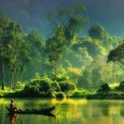 Пазл онлайн: Наедине с природой