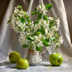 Пазл онлайн: Весенний цвет