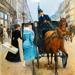 Пазл онлайн: Торговая улица