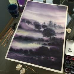 Пазл онлайн: Туман