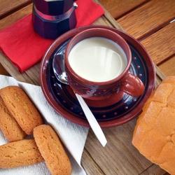 Пазл онлайн: Латте с печеньем