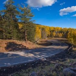 Пазл онлайн: Поворот дороги