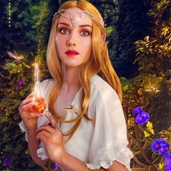 Пазл онлайн: Волшебное зелье