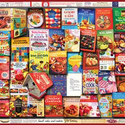 Пазл онлайн: Кулинарная книга Бетти Крокер