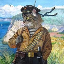 Пазл онлайн: Военный моряк