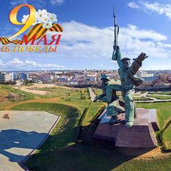 Пазл онлайн: Памятник Солдату и Матросу