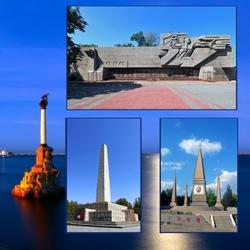 Пазл онлайн: Севастополь героический