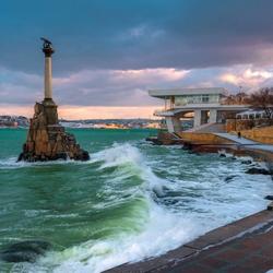 Пазл онлайн: Город-герой Севастополь