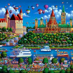 Пазл онлайн: Река Оттава