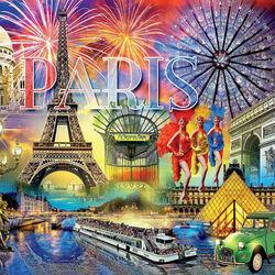 Пазл онлайн: Прекрасный Париж