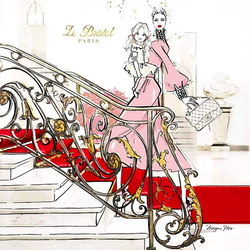 Пазл онлайн: Отель Le Bristol Paris