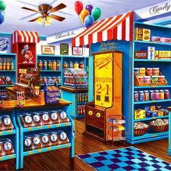 Пазл онлайн: Кондитерский магазин Стефани