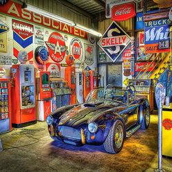 Пазл онлайн: Жемчужина гаража