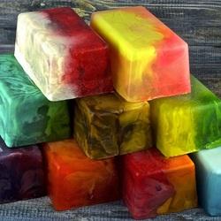 Пазл онлайн: Бруски мыла