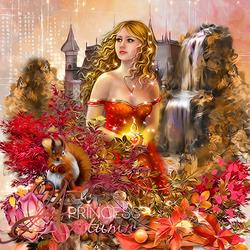 Пазл онлайн: Принцесса Осень