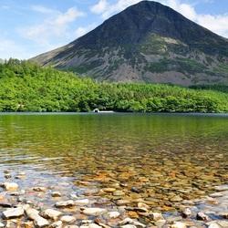 Пазл онлайн: Камешки озера