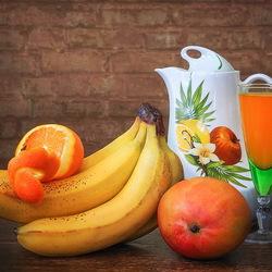 Пазл онлайн: Сочные фрукты