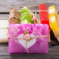 Пазл онлайн: Мыло ручной работы