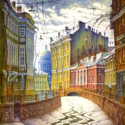 Пазл онлайн: Петербург