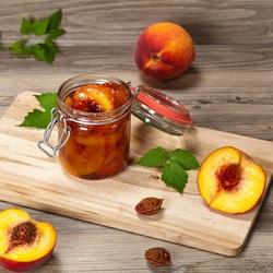 Пазл онлайн: Персиковое варенье