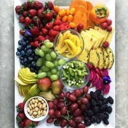 Пазл онлайн: Тарелочка удовольствий