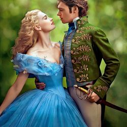 Пазл онлайн: Золушка и принц