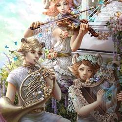 Пазл онлайн: Серенада весне
